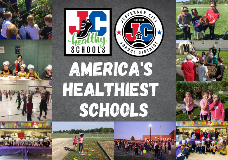 Four Jefferson City School District Schools named to 2020 list of America's Healthiest Schools
